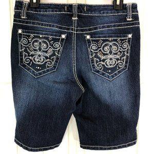 Nine West Vintage America Bermuda Jean Shorts